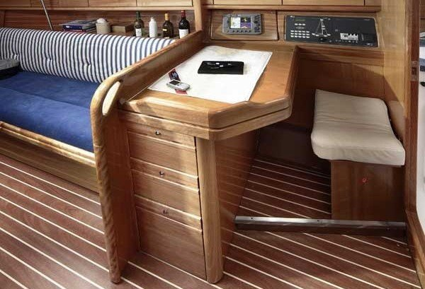 Bavaria 30 Cruiser - navigatiehoek