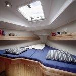 Bavaria 31 Cruiser - hut voor in de punt