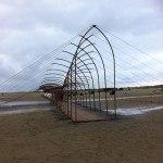 Oerol 2014-kunst op strand